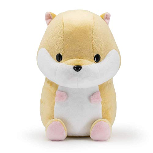 Bellzi Hamster Cute Stuffed Animal Plush Toy - Adorable Soft Brown Hamster Toy Plushies and Gifts - Perfect Present for Kids, Babies, Toddlers - Hami