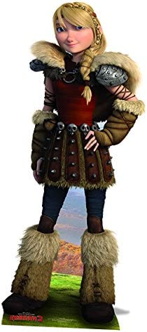 Amazon Com How To Train Your Dragon Life Size Cutout Of Astrid Toys Games