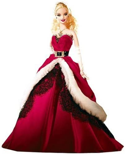 Barbie Noel 2008 Amazon.com: Mattel Barbie 2007 Holiday Collector Doll: Toys & Games