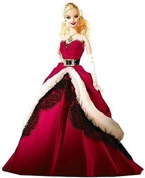Barbie De Noel Amazon.com: Mattel Barbie 2007 Holiday Collector Doll: Toys & Games