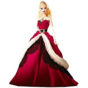 Mattel Barbie 2007 Holiday Collector Doll