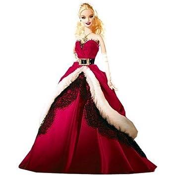 e84b17bd45f Mattel - Poupée - Barbie Collector Joyeux Noel 2007  Amazon.fr  Jeux ...