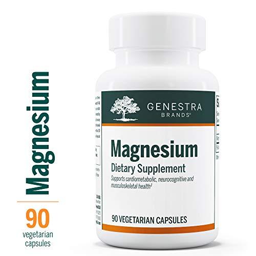 Genestra Brands - Magnesium - Magnesium Aspartate Mineral Supplement - 90 - Magnesium Capsules Aspartate 90