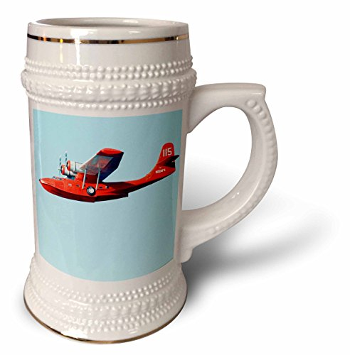 Danita Delimont - Aviation - Aircraft PBY Catalina of MN Wing, Aviation - US24 BFR0069 - Bernard Friel - 22oz Stein Mug (stn_91296_1)