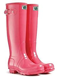 Amazon.com: pink rain boots for women: Clothing, Shoes
