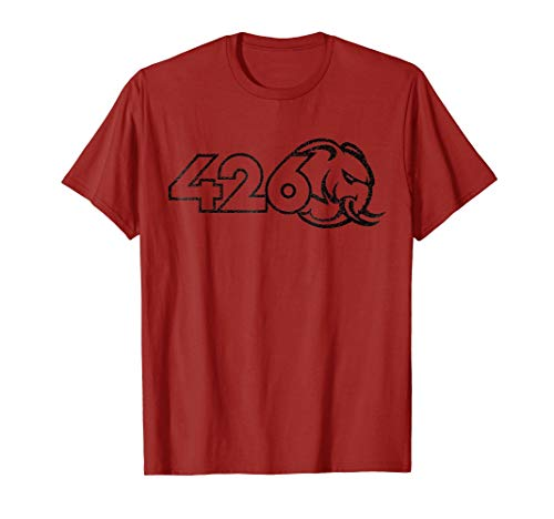 Mens 426 Hemi Hellephant Weathered T-Shirt