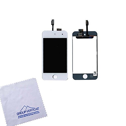 Touch Screen Digitizer and LCD for Apple iPod Touch 4 - W...