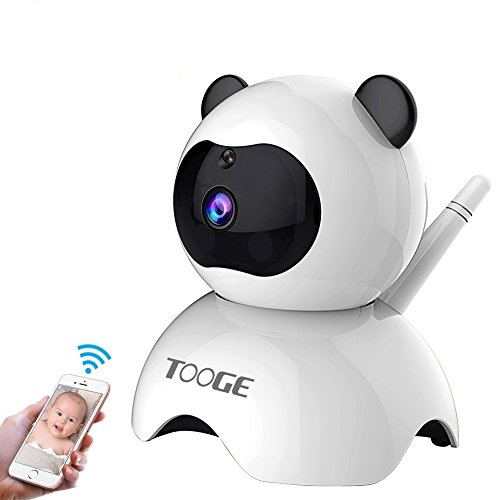 WiFi Camera,TOOGE Wireless Security IP Camera 960P Home Indoor Surveillance Camera Nanny Cam with Pan/Tilt Night Vision Two-way Audio Motion Detection