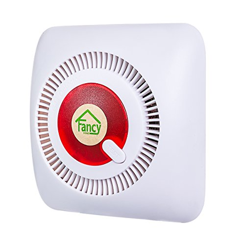Fancy Home Natural Combustible Gas Leak Detector Alarm Plug In Gas Sensor with Case