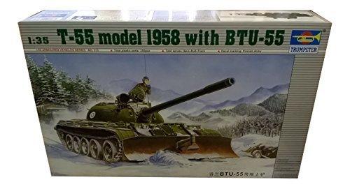 en venta en línea Trumpeter 1 35 - T-55 Model 1958 1958 1958 w BTU-55 by Trumpeter  tienda de ventas outlet
