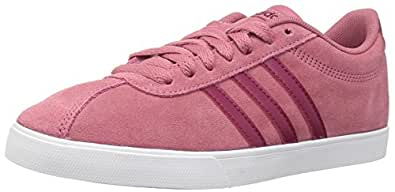 adidas Originals Women's Courtset Sneaker, Trace Maroon/Mystery Ruby/Mystery Ruby, 6 M US