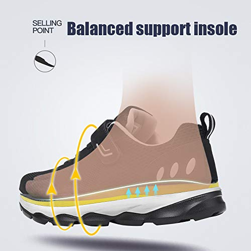 Running Stoßdämpfende Fitness Walking Gym Dunkelblau Jogging Herren Atmungsaktiv Sportschuhe Turnschuhe Damen Leichte Schuhe Monrinda Sneakers IqZwgW
