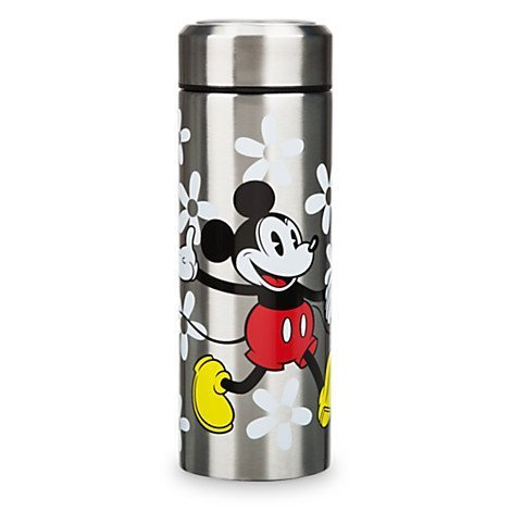 Mickey and Minnie Mouse Stainless Steel Water Bottle -