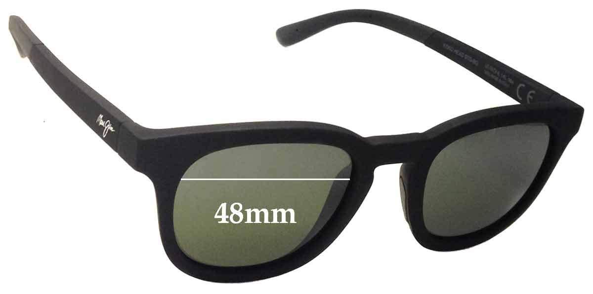 SFX Replacement Sunglass Lenses fits Maui Jim Koko Head MJ737 48mm Wide