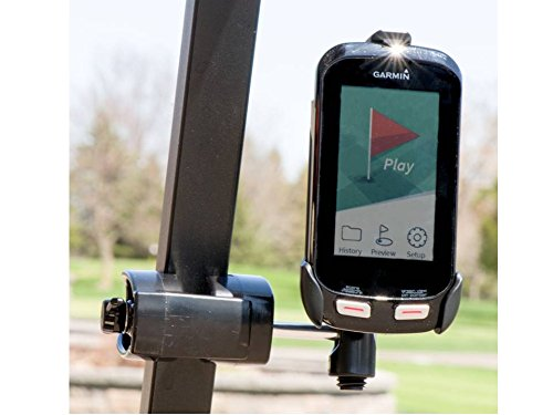 Golf Cart Mount for Garmin G6 G7 G8 G30 and G10 by Caddie Buddy