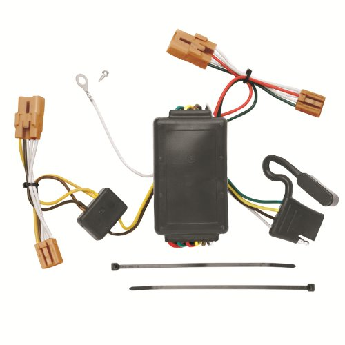 Tow Ready 118514 T-One Connector Assembly with Circuit Protected Converter ()