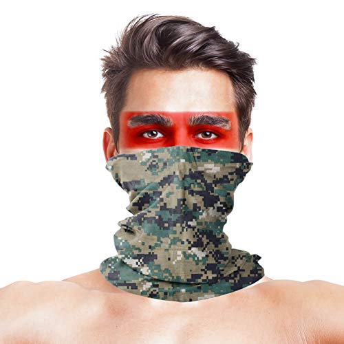 Camo Tactical Tube Marine Woodland Digital Camouflage Bandana Military Multifunction Face Mask Ski Balaclava Snowboard Moto X Face Protection Harley Davidson Snowboard Ski Mask Multi Function Tactical Seamless