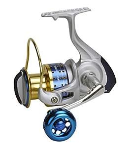 Okuma Cedros High Speed Spinning Reel, Silver, Blue & Gold, CJ-40S