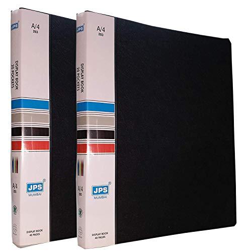 DishanKart A4 Size Display Book Presentation File - 40 Pockets (2 Pack) (B07NCC8Z9T) Amazon Price History, Amazon Price Tracker