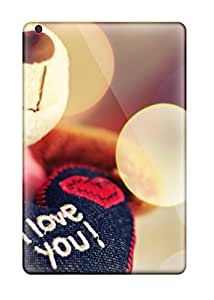 Ipad Mini Cases Covers Skin : Premium High Quality Love You Teddy Bear Cases