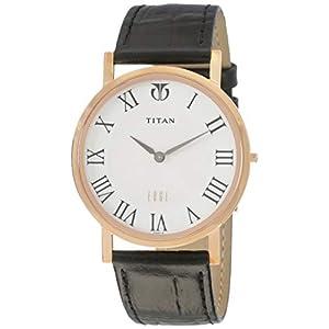 Titan Edge Analog White Dial Men's Watch -NK1595WL01