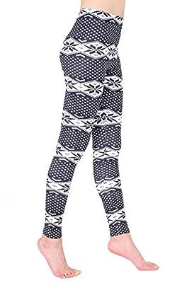 Beluring Womens Workout Yoga Fitness Slim Fit Floral Print Leggings Pants