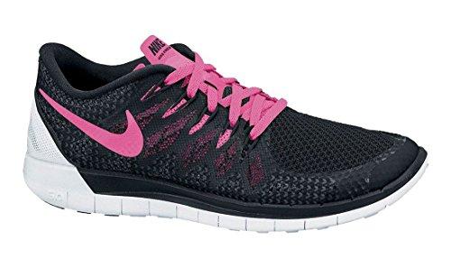 Nike Free 5.0 Women Laufschuhe black-pink-pow-white - 43