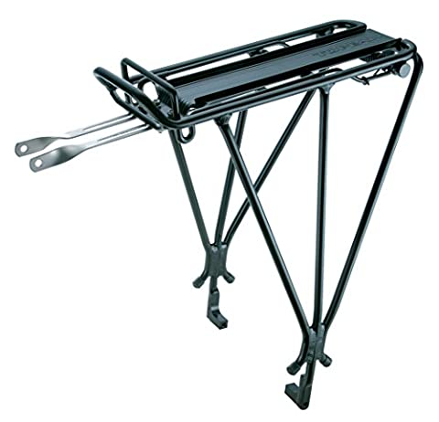Topeak Explorer Bicycle Rack with Disc Brake Mounts and Spring (Bike Rack Disc Brake)