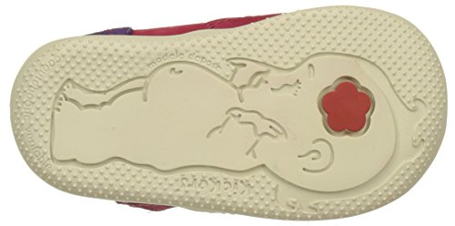 Kickers Biflorid, Zapatos de Cordones Derby para Niñas Rose (Fuchsia Orange Violet)