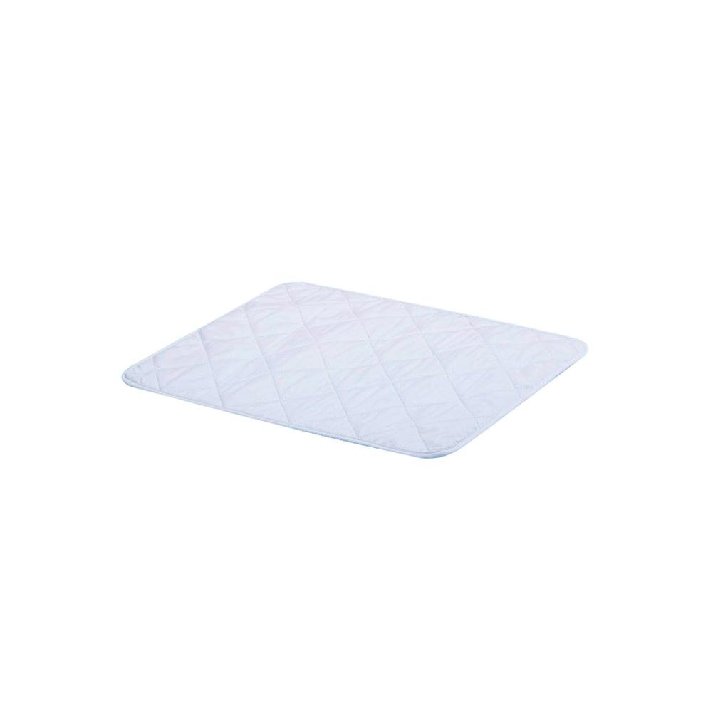Baby Leak-Proof Urine Isolation Pad Pure Cotton Four-Layer Thickened Machine Washable Quilted Thicker Longer Changing Pad Liners (A) Luerme