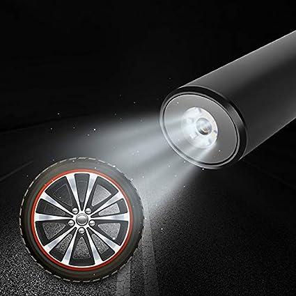 Nrpfell 12 V Tragbare Auto Drahtlose Aufblasbare Luft Pumpe USB Schnittstelle Elektrische Reifen 150PSI Auto Fahrrad Pumpe Reifen F/üLler Auto Auto Aufblasbare Pumpe Silber