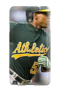Premium MtisxVg4681rWBRx Case With Scratch-resistant/ Oakland Athletics Case Cover For Galaxy Note 3