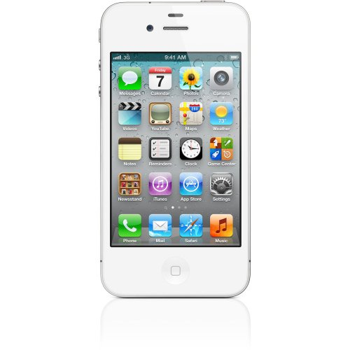 Apple iPhone 4S 16 GB Factory Unlocked, White