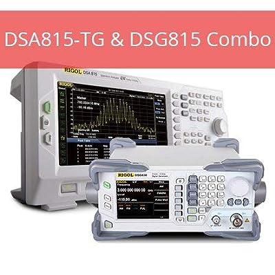 Rigol DSG815 DSA815 Combo Spectrum Analyzer and DSG815 1.5 GHz AM/FM Signal Generator