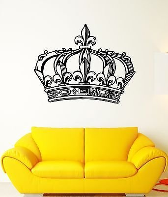 crown wall decal - 4