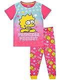 Simpsons Girls Lisa Pajamas Pink Size 12