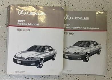 1997 lexus es300 es 300 service repair manual book set w wiring rh amazon com 1997 lexus es300 repair manual pdf 1997 lexus es300 owners manual pdf