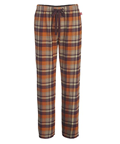 Woolrich Women's First Light Flannel Pajama Pant, Wine Plaid, X-Large