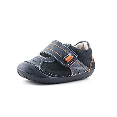 NATURA-DINO | Wobbly Waddlers | Baby Boy Sneakers Leather Shoe | First Walker Support | Size 3-7 Toddler