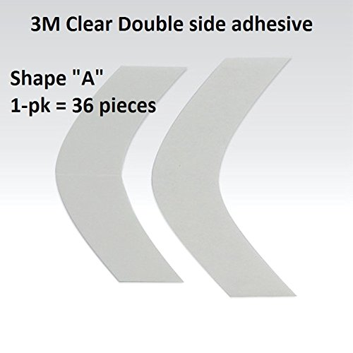 3M 1522 Clear Adhesive Tape 36 Pieces ()