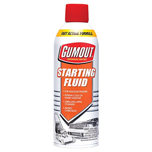 Gumout 5072866 Starting Fluid, 11 oz.