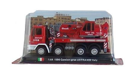 Amazon com: Astra HD7 Italy - 1996 diecast 1:64 fire truck