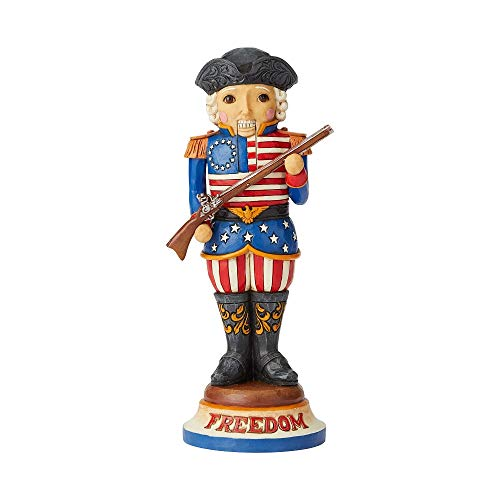Enesco Jim Shore Heartwood Creek American Nutcracker Figurine