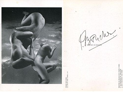 Pierre Boucher autograph French Photographer signed photo