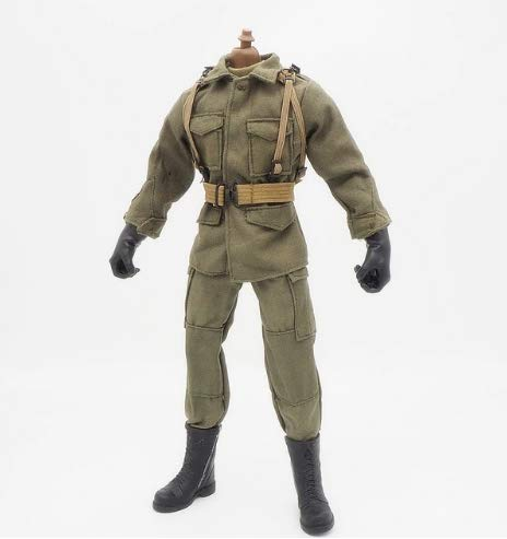 [해외]16 Scale Clothes Soldier Uniforms Airborne Set for 12 Male Military Action Figure Body Cloth for Doll / 16 Scale Clothes Soldier Uniforms Airborne Set for 12 Male Military Action Figure Body Cloth for Doll