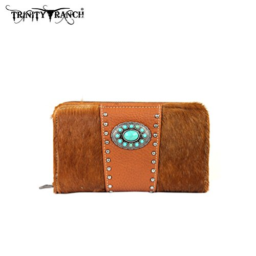 tr17w003-trinity-ranch-cowhide-collection-wallet-brown
