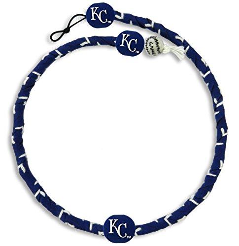 GameWear 1 Pc, Kansas City Royals Team Color Frozen Rope Baseball Necklace