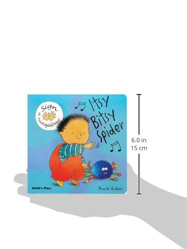 Itsy, Bitsy Spider: American Sign Language (Sign & Singalong) by Childs Play Intl Ltd