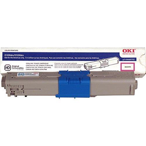 OKI - Toner cartridge - 1 x magenta - 3000 pages - C330/530 MAGN TONER CART TYPE C17 3K