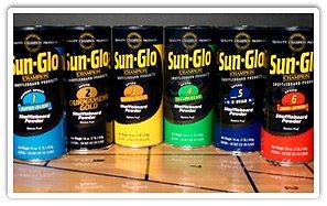 Table Shuffleboard Powder Sand - Sun-Glo Sampler Six-Pack by Sun-Glo